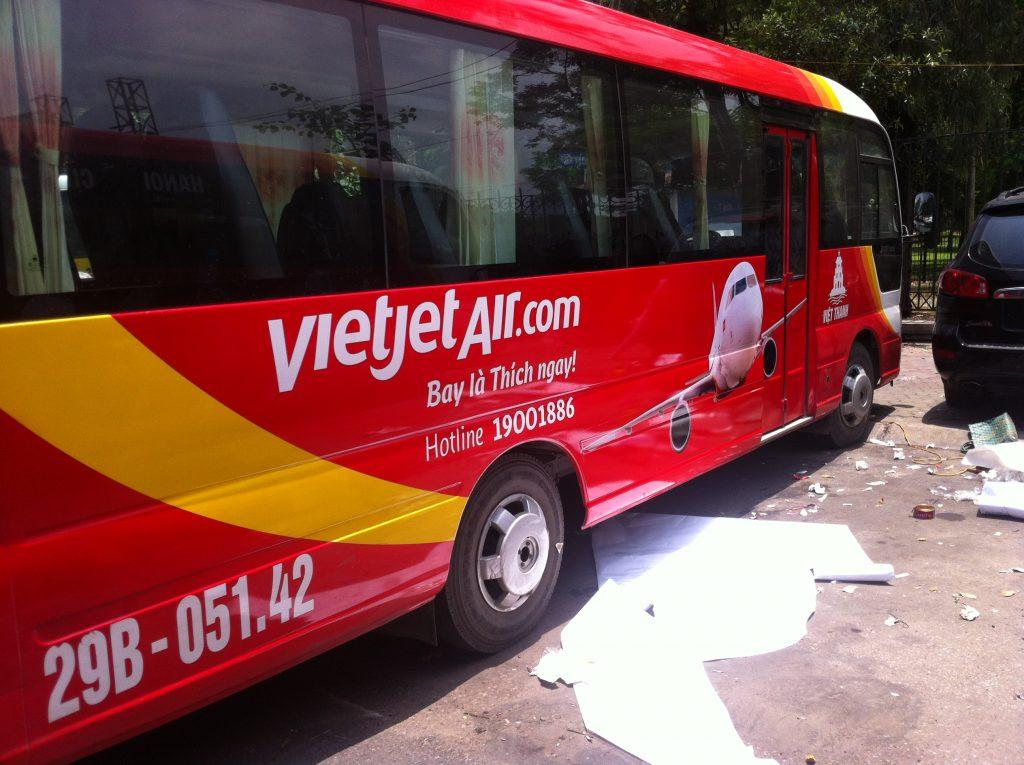 Minibus Vietjet Air