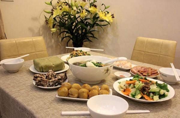 Những bữa cơm ấm cúng cùng với gia đình