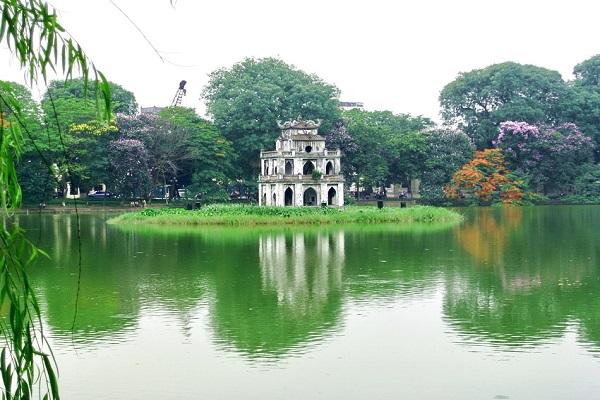 Hồ hoàn kiếm Hà Nội
