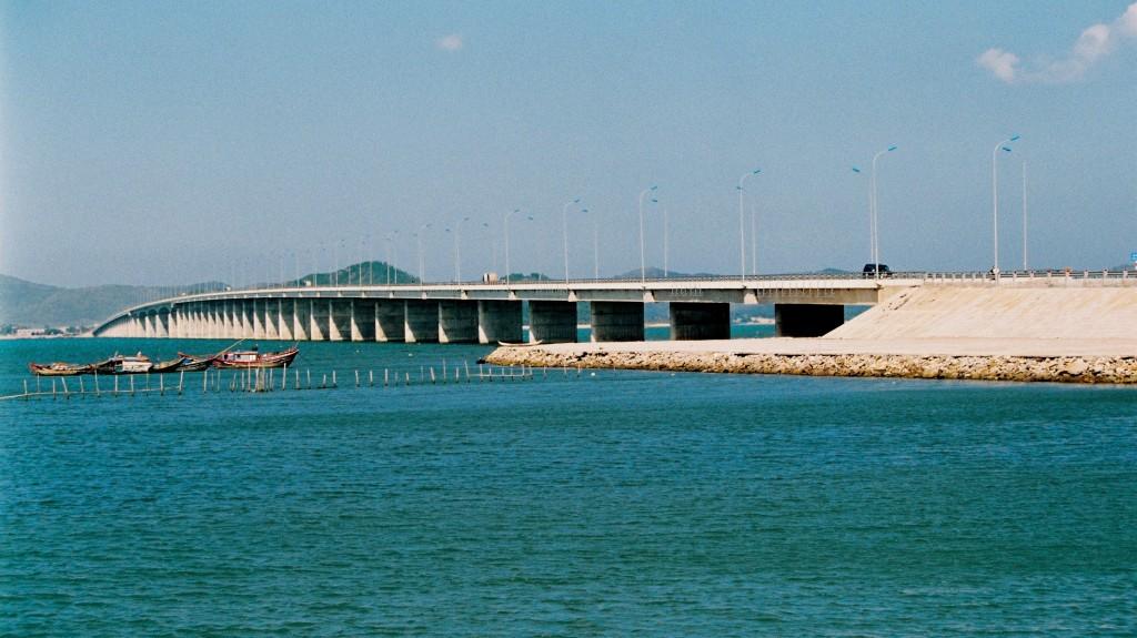 Cầu vượt biển dài nhất Việt Nam