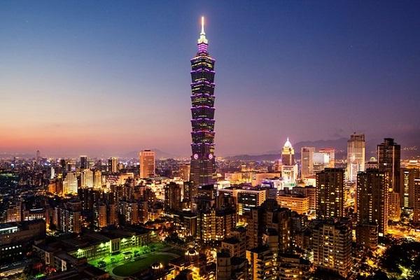 Tòa tháp Taipei 101 tầng