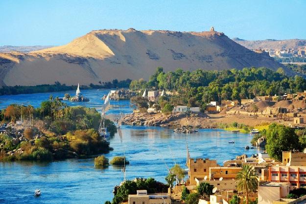 Dòng sông Nile hiền hòa