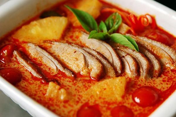 Món Cari Thái Lan