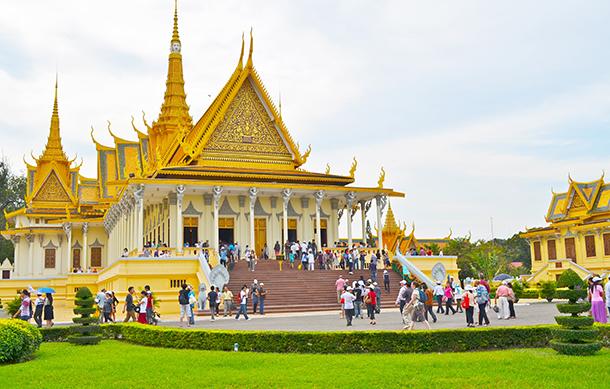 Một ngôi chùa tại Campuchia