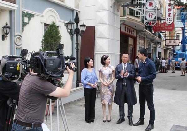 Vé giá rẻ đến phim trường giả cổ Hong Kong
