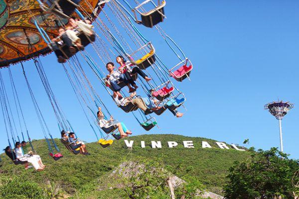 Vinperland là địa điểm không thể bỏ qua khi đến Nha Trang