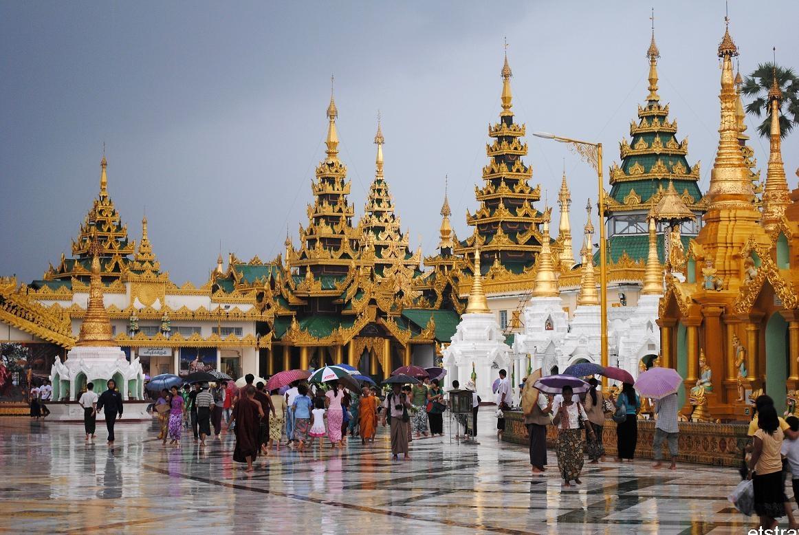 Chùa Vàng ở Thái Lan