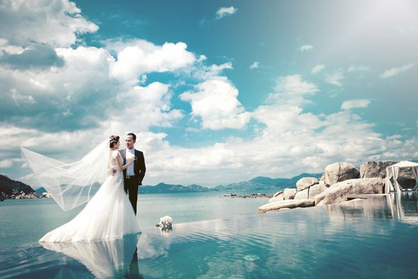 Chụp ảnh cưới ở Bãi Sao