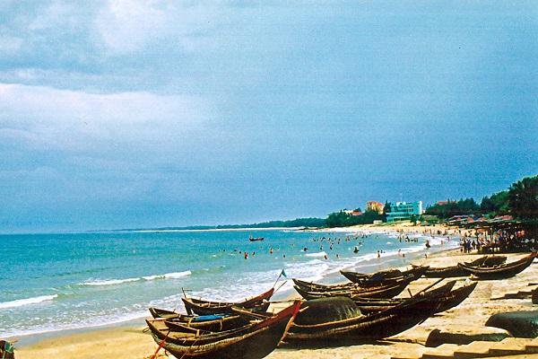 Bãi biển Cửa Lò ở Nghệ An - Vinh