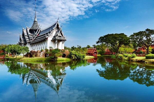 Xứ sở chùa càng Thái Lan