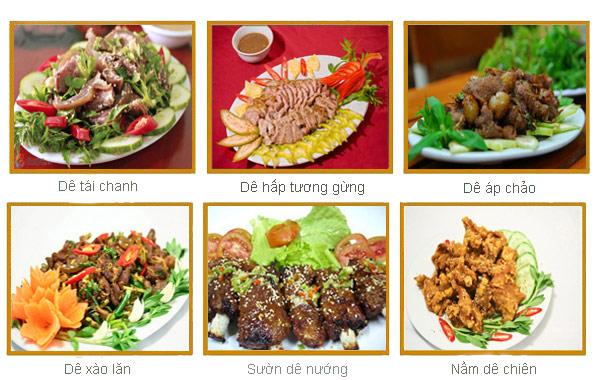 Các món ăn độc đáo Ninh Bình