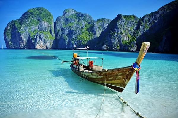 Những bãi biển xinh đẹp ở Thái Lan