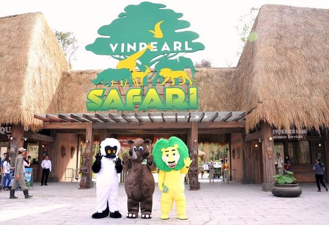 Tham quan Vinpearl Safari