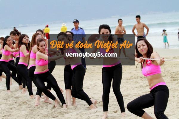 Đặt vé đoàn Vietjet Air