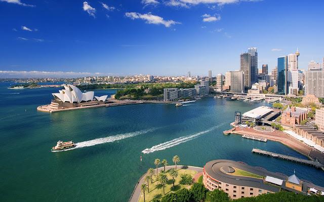 Úc xinh đẹp, điểm đến của nhiều du khách