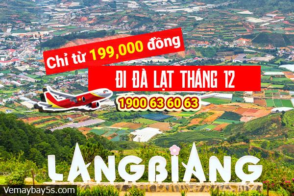 Vé máy bay đi Đà Lạt tháng 12