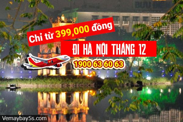 Vé máy bay đi Hà Nội tháng 12