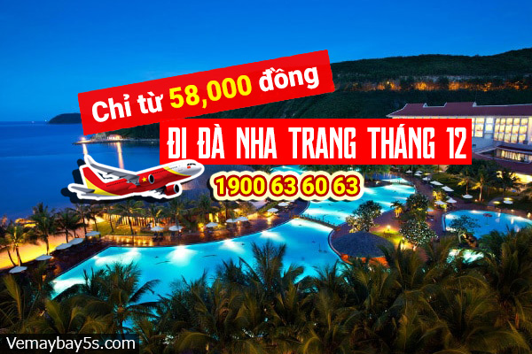 Vé máy bay đi Nha Trang tháng 12