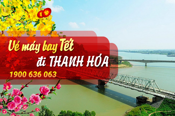 Vé máy bay Tết đi Thanh Hóa