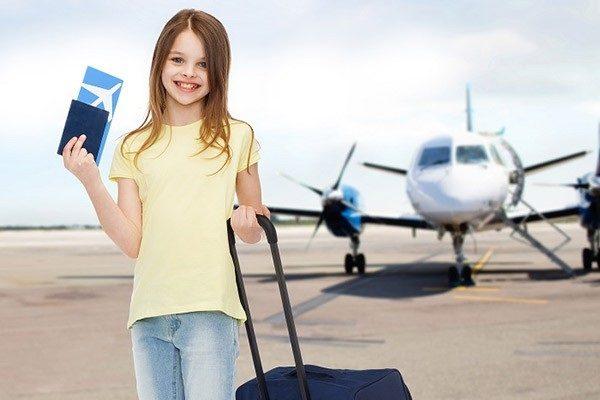 Thủ tục lên máy bay cho trẻ em