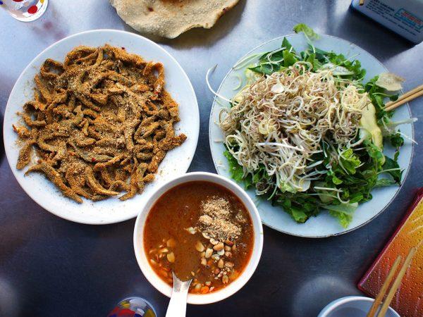 Gỏi cá Nam Ô Thanh Hương