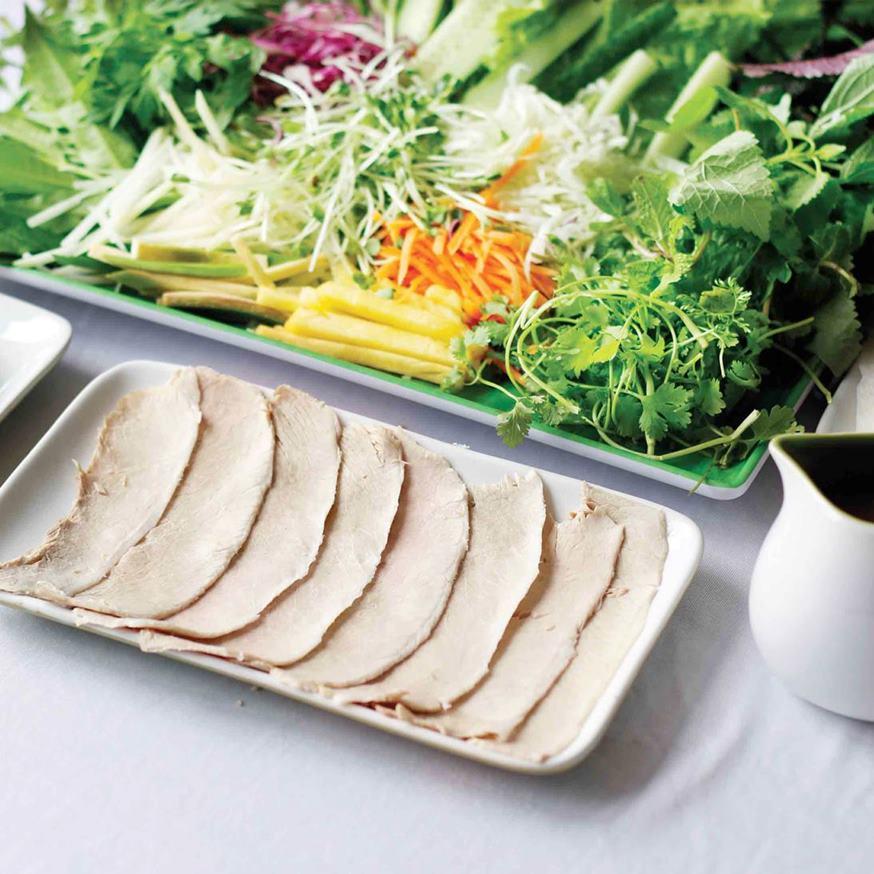 Quán bánh tráng thịt heo Trần