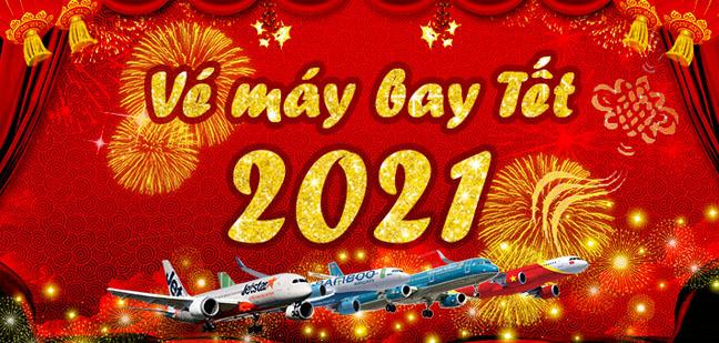 Vé máy bay Tết giá rẻ 2021 Tân Sửu